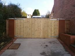 moorings wooden gates fencing