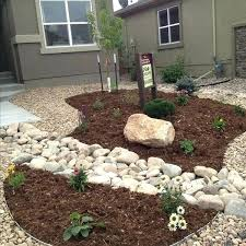 Desert Backyard Designs Classy Desert Landscaping Ideas For Front Yard Gravel Landscape Front Yard