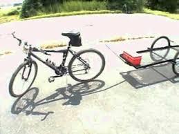 push bike trailer hitch off 65