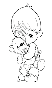 coloring pages precious moments print free