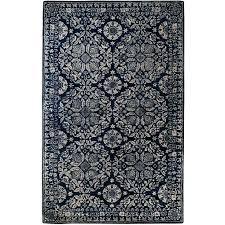 blue medallion rug large blue rugs pottery barn bird medallion rug blue