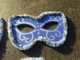 Giant Masquerade Mask Decoration Secondhand Prop Shop Costume and Fancy Dress Giant LED 51