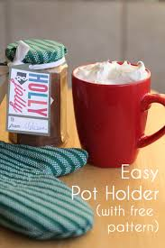 potholder tutorial with free pattern easy neighbor gift melly sews diy sewing