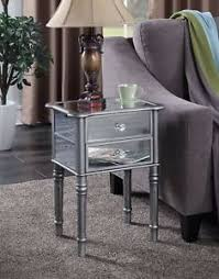 black hallway furniture. Image Is Loading Mirror-End-Table-Black-Modern-Living-Room-Bedroom- Black Hallway Furniture Y