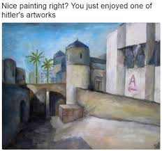 nice painting right you just enjoyed one of s artworks