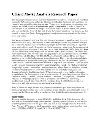 Film Review Template Gorgeous Film Analysis Template 44 Movie Essay Format Deepwaters