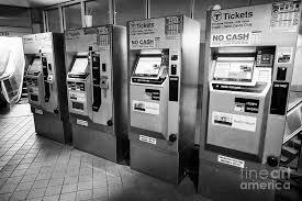 Mbta Fare Vending Machine Delectable Boston Metro Mbta Ticket Fare Machines South Street Station Boston