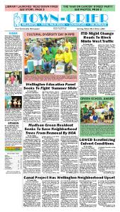 Town Crier Newspaper May 16 2014 by Wellington The Magazine LLC.