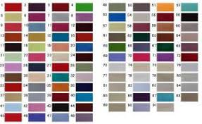 Permoglaze Paint Colour Chart Snazaroo Standard Colour Chart All Colours In Stock On Popscreen