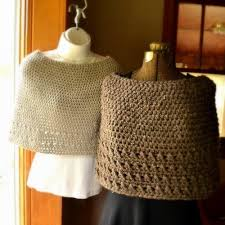 Capelet Pattern Stunning Spring Into Style With 48 Crochet Ponchos And Capelets