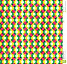 Circle Illusion Pattern Graphic Design Stock Vector Illustration