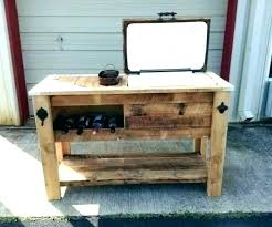 grill prep station outdoor table with storage bbq diy unity 40 gal serving s grill prep station outdoor