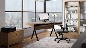 Unique home office desk Layered The Bdi Modica Collection Stylish Unique Design For Full Home Office Bdi Furniture Modern Home Office Furniture Desks Storage Shelving More Bdi