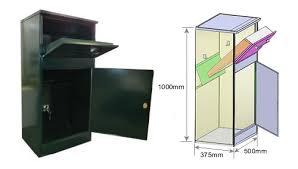 parcel drop box. Wonderful Box P2 Parcel Drop Box Inside Drop