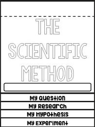 Scientific Method Flip Book Worksheets Teaching Resources