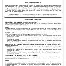 Sample Resume For Technical Recruiter Position It Senior Example Us