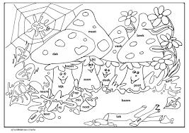 Veilig Leren Lezen Kern 3 Kleurplaat Kleuren Herfst Klikklakboekje