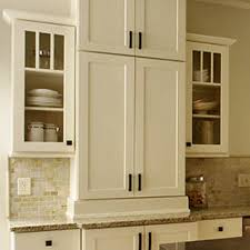 Glass Kitchen Cabinet Doors - Open Frame Cabinets