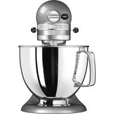 Kitchen Aid 5KSM125 ECU   Robot De Cocina Artisan Plata De 4.8L 4 Accesorios