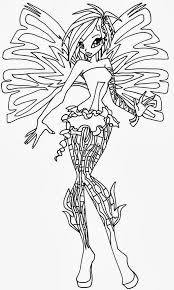 Disegni Da Colorare Winx Bloom Sirenix Timazighin Con Disegni Da