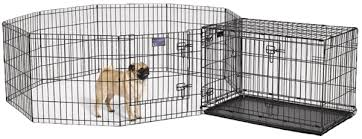 midwest dog playpen and crate
