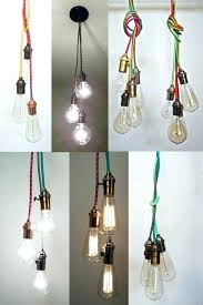 multi bulb pendant light multi bulb pendant light modern 3 drum lighting diy multi bulb pendant