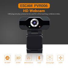 Купить Видеонаблюдение | <b>ESCAM PVR006</b> USB Webcam Full ...