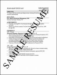 2016 Simple Resume Examples Recentresumes Com
