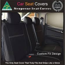 mitsubishi asx rear neoprene waterproof uv treated wetsuit car seat cover