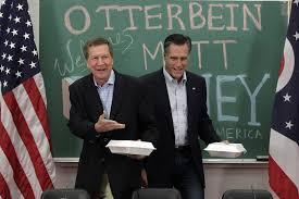 gov john kasich and mitt romney together again ohio politics john kasich and mitt romney together again ohio politics roundup com