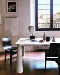 scandinaviancollectors angelo mangiarotti eros dining table material carrara marble and tre 3 chair new ion by agapecasa italy