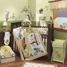 deer crib bedding set