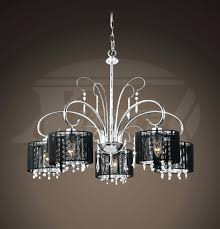 crystal chandelier with drum shade. 37 Most Bang-up Black And Glass Chandelier Drum Shade Pendant Lighting Aegean Light Chrome Dining Room Fabric Chandeliers Beldi Medford Collection Satin Crystal With