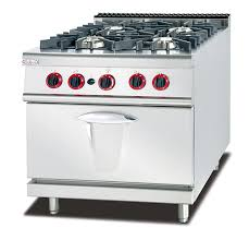 kitchen gas stove. China LPG / Natural Gas 4 Burner Cooking Range Impulsive Ignition Stainless Steel Stove Supplier Kitchen