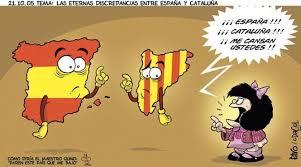 Resultado de imagen de independencia cataluña