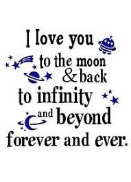 Grandma loves you to the moon & back to infinity and beyond ...