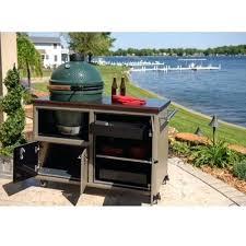 big green egg outdoor kitchen challenger designs torch big green egg cart big green egg backyard