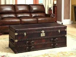 leather chest leather trunk coffee table coffee cute modern coffee table round glass coffee table as