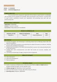 Resume Elegant Resume Model For Job With Resume Letter Sample