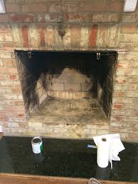 fireplace unpainted