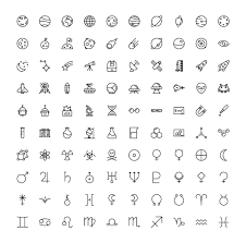 The Space Science Icons 100 By The Store On At Creativemarket The