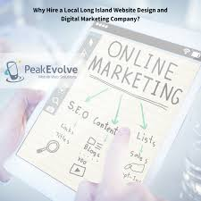 Long Island Web Design Company East Rockaway Website Design Company Peak Evolve Mobile