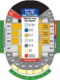 Gamblers Hockey Seating Chart Green Bay Gamblers Resch Center