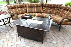 rectangle gas fire pit table rectangular gas fire pit best outdoor propane gas fire pit tables