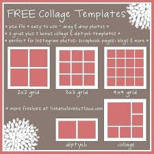 Picture Collage Templates Free Download 3 Photo Collage Template 9 Picture Collage Template