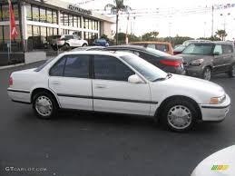 Frost White 1993 Honda Accord EX Sedan Exterior Photo #43715756 ...