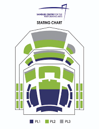 Seating Charts Sandler Center For The Performing Arts