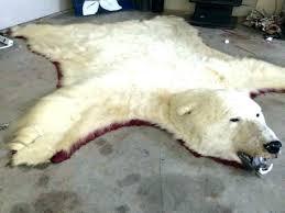 fake bear rug real polar bear rug fake bear rug polar bear rug intended for pleasant fake bear rug