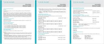 Contemporary Resume Templates Vibrant Design Contemporary Resume 1