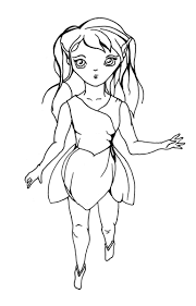 adult girl elf coloring pages girl elf coloring pages to print ...